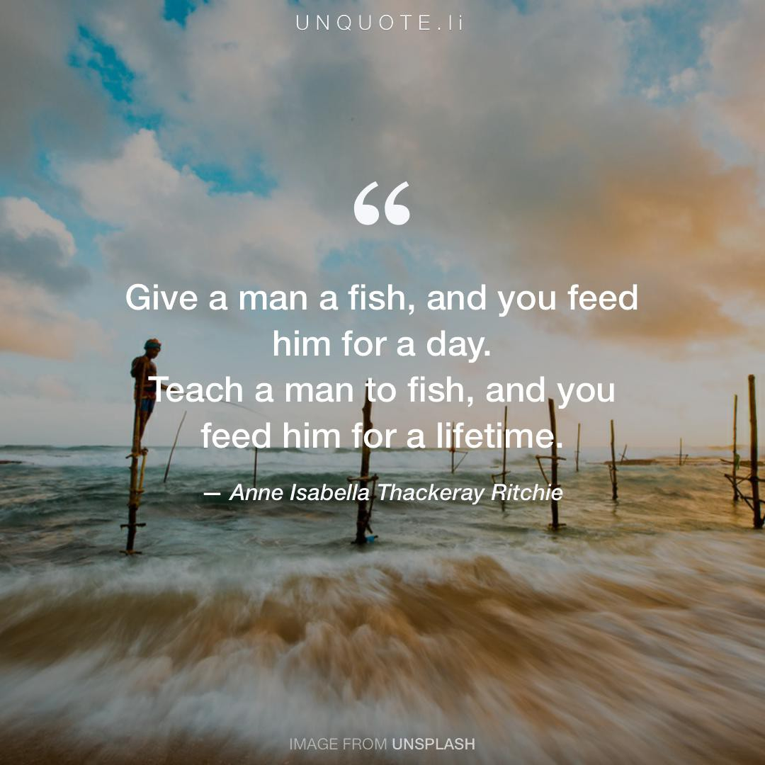 Give a m... Quote from Anne Isabella Thackeray Ritchie ...