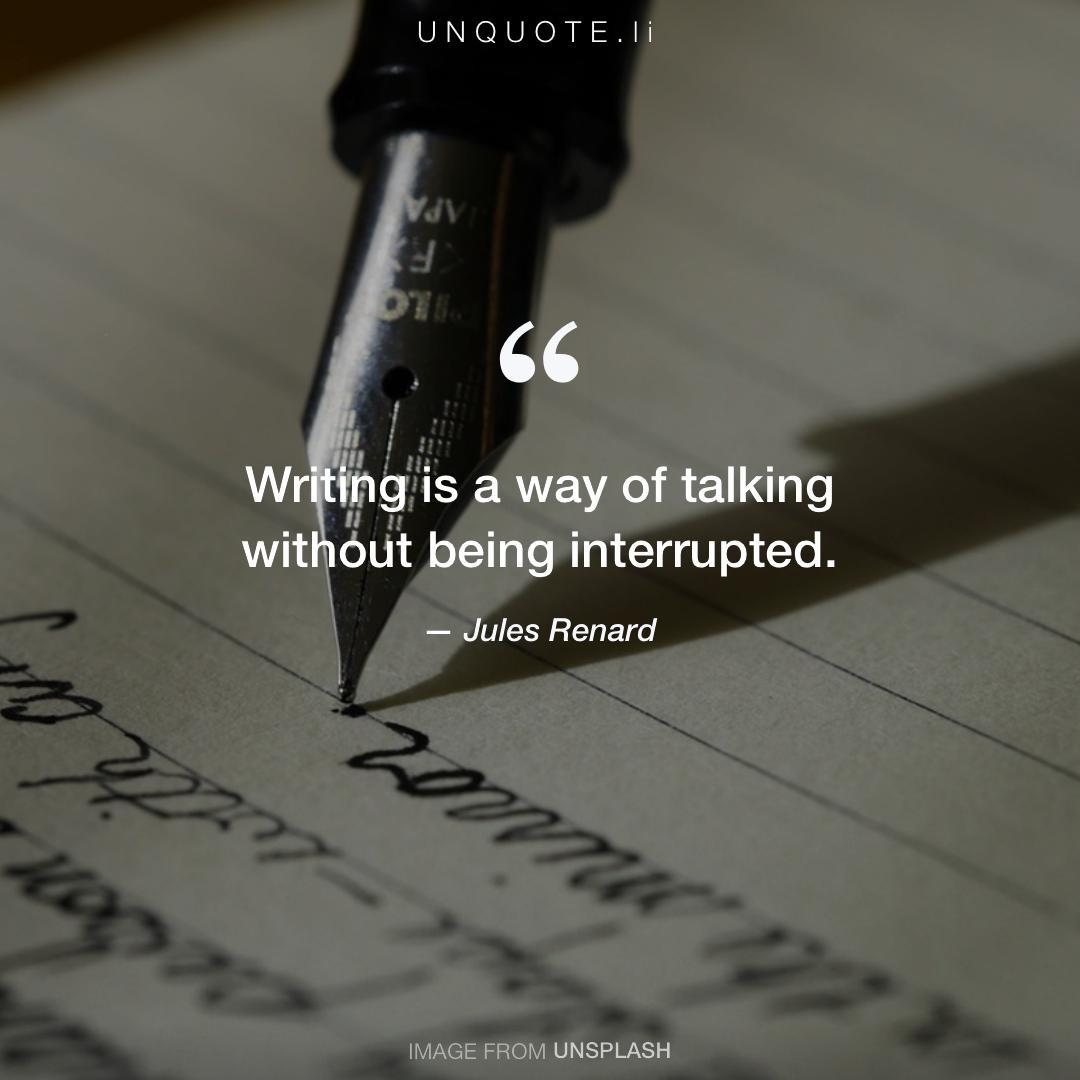 jules renard quotes writing author