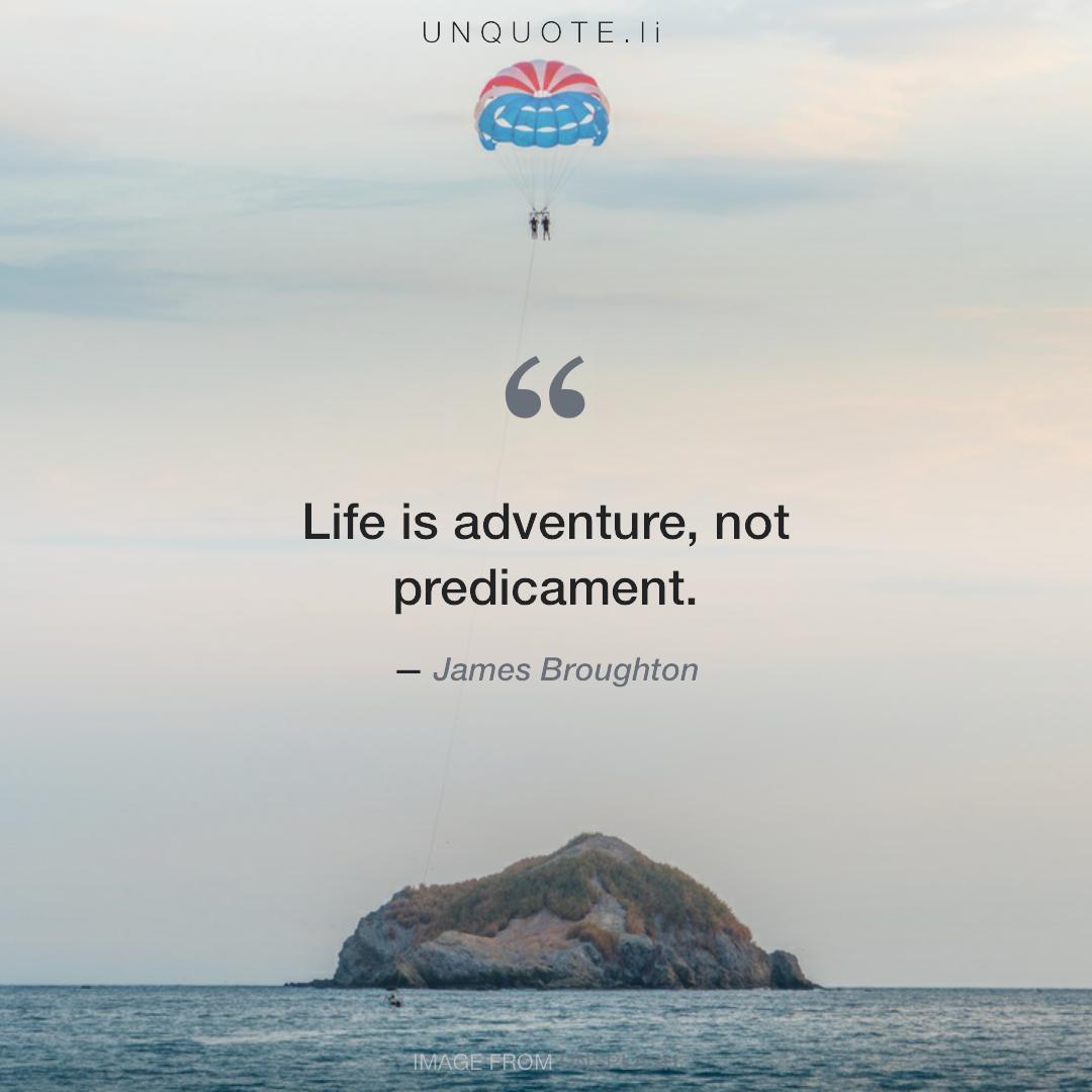 Жизнь это приключение цитата