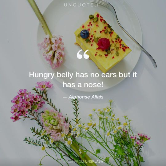 Image from Unsplash remixed with quote from Alphonse Allais.