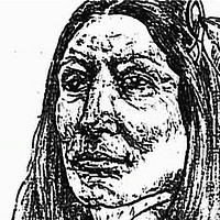 Picture of Crazy Horse (Tašúŋke Witkó)