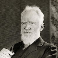 Picture of George Bernard Shaw