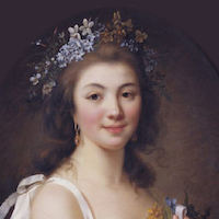Picture of Madame de Genlis