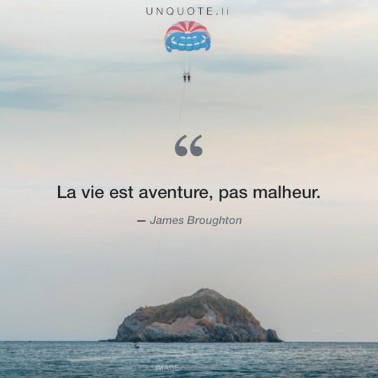 Image d'Unsplash remixée avec citation de James Broughton.